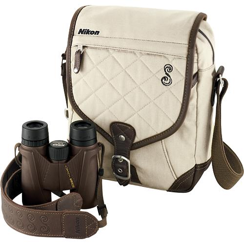 Nikon SHE Safari Monarch Binoculars including Accessories
