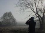 Using Binoculars in Winter