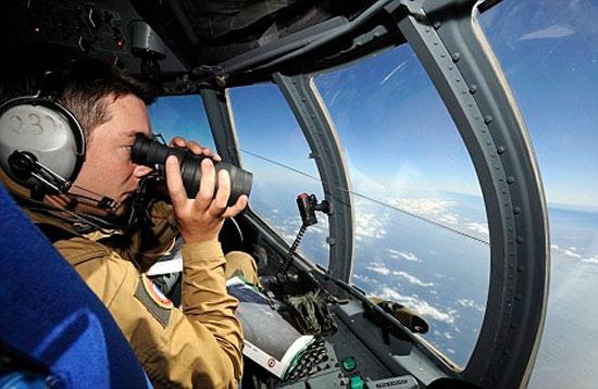 Airplane binoculars