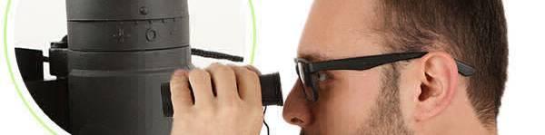 Using Binoculars with Eyeglasses