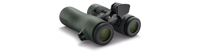 Swarovski NL Pure 10x42 Binoculars with Forehead Rest Attached