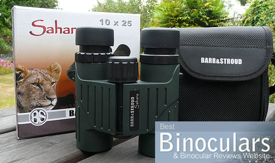 Barr & Stroud Sahara 10x25 Binoculars including carry case