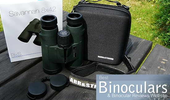Barr & Stroud 8x42 Savannah Binoculars including carry case