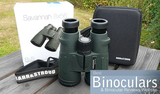 Barr & Stroud Savannah 8x56 Binoculars including carry case