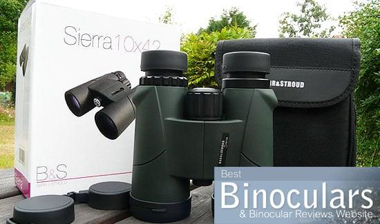 Barr & Stroud Sierra 10x42 Binoculars including carry case