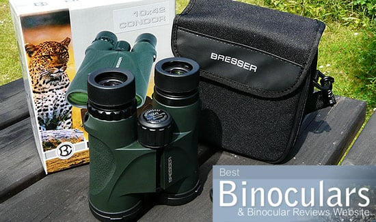 Bresser Condor 10x42 Binoculars including carry case