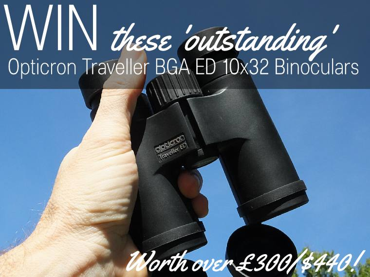 Win these Opticron Traveller 10x32 Binoculars Competition