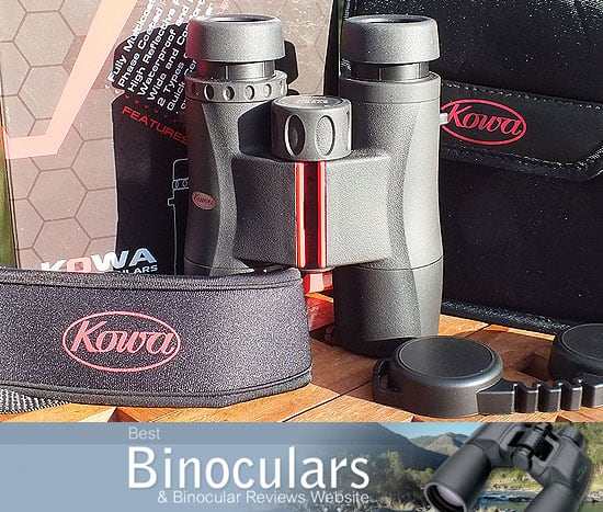 Kowa SV 8x32 Binoculars with neck starp and lens covers