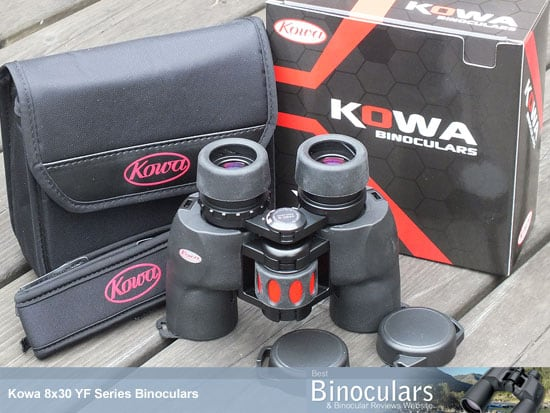 Kowa YF 8x30 Binoculars with Carry Case, Neck Strap and Eye Covers