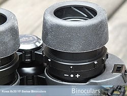 Diopter Adjustment on the Kowa YF 8x30 Binoculars