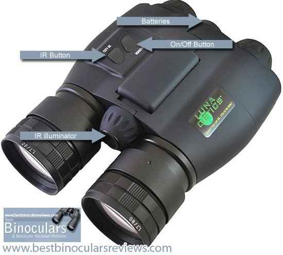The Luna Optics LN-SB50 Night Vision Binoculars