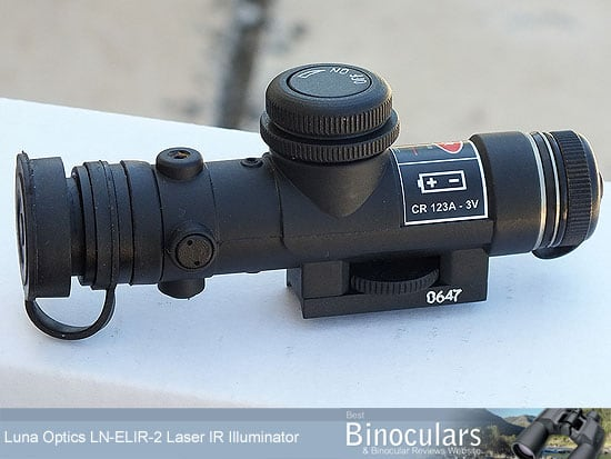 Luna Optics LN-ELIR-2 Super Long Range Laser IR Illuminator