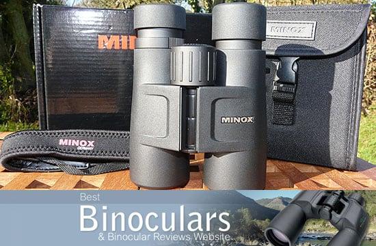 Minox BV 10x42 BRW Binoculars
