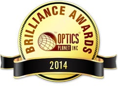 Optics Planet Brilliance Awards Logo 2014