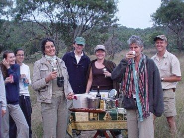 In my days as a safari guide with the lovely Finley family