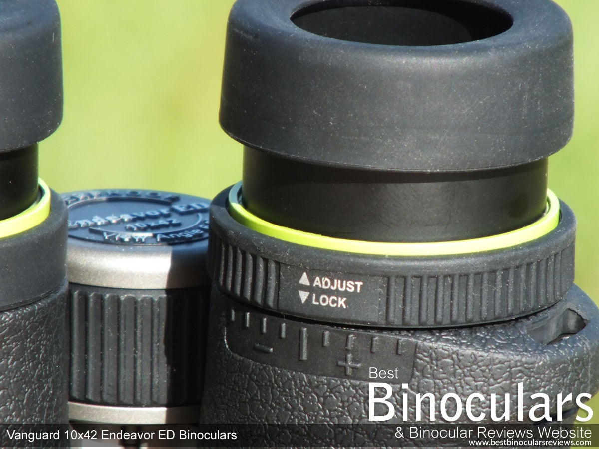How To Focus Binoculars Calibration Using The Diopter