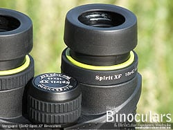 Eyecups on the Vanguard 10x42 Spirit XF Binoculars