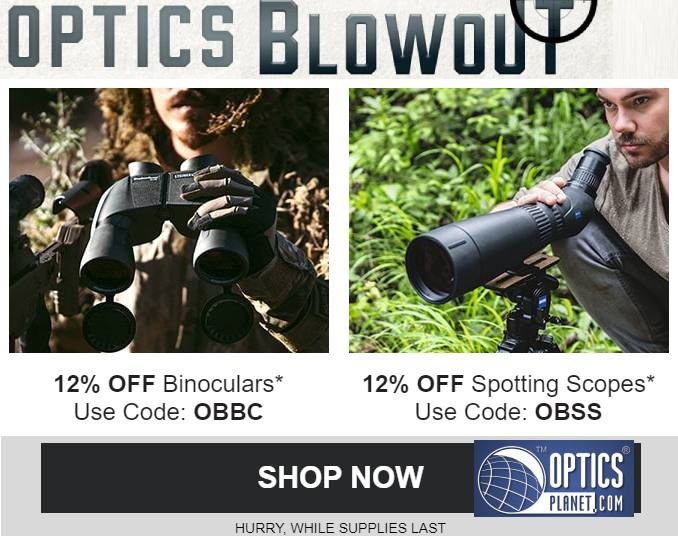 Optics Blowout Sale at Optics Planet