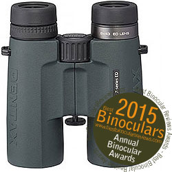 Winner Best Wildlife & Hunting Binocular 2015, the Pentax ZD 8x42 ED Binoculars
