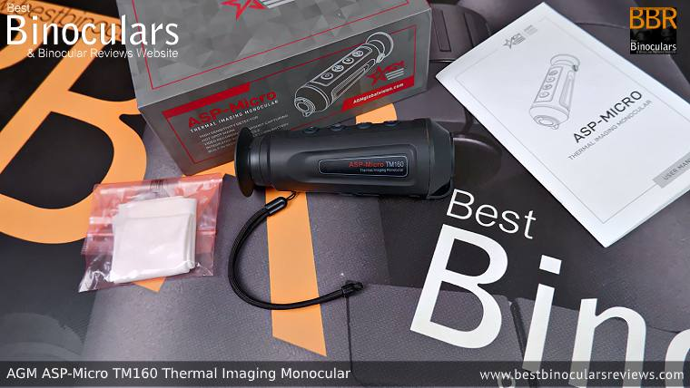 AGM Asp-Micro TM160 Thermal Imaging Monocular with accessories