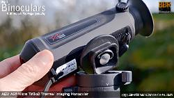 Mounting the AGM Asp-Micro TM160 Thermal Imaging Monocular onto a tripod