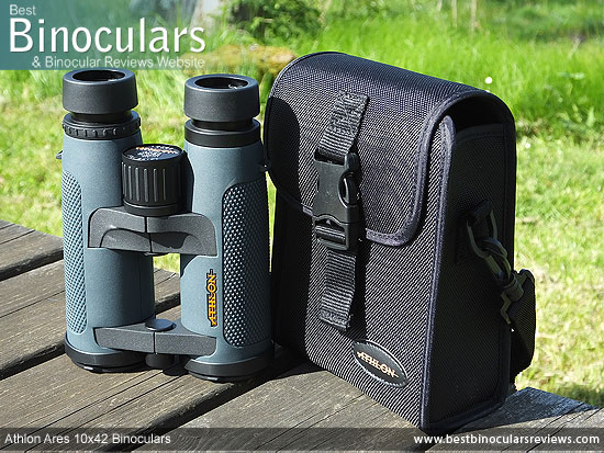 Carry Case for the Athlon Ares 10x42 Binoculars