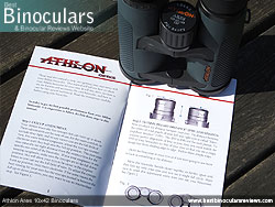 Instruction Manual for the Athlon Ares 10x42 Binoculars