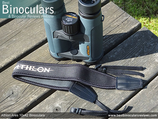 Neck Strap for the Athlon Ares 10x42 Binoculars