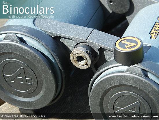 Tripod Adaptable Athlon Ares 10x42 Binoculars