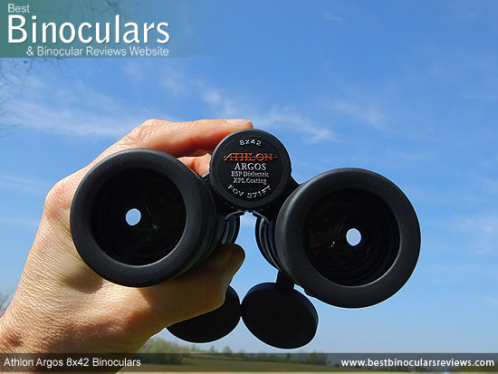 Adjusting the Focus Wheel on the Athlon Argos 8x42 Binoculars