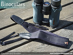 Neck Strap included with the Athlon Argos 8x42 Binoculars