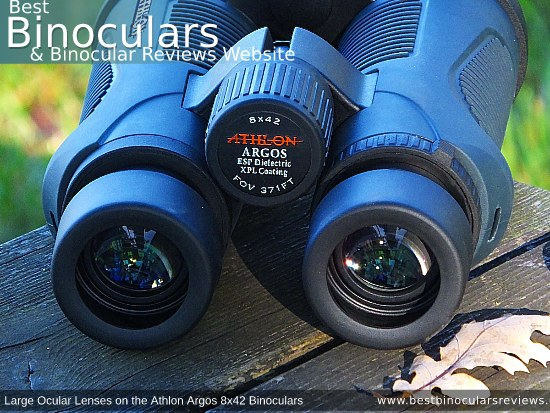 42mm Objective Lenses on the Athlon Argos 8x42 Binoculars
