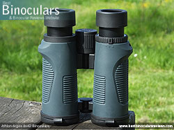 Underside of the Athlon Argos 8x42 Binoculars