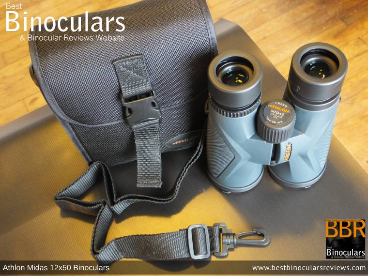 Carry Case for the Athlon Midas 12x50 Binoculars