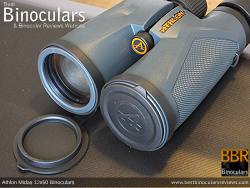 Lens Covers on the Athlon Midas 12x50 Binoculars
