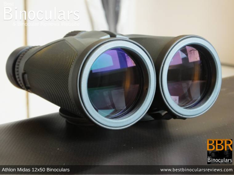 Objective Lenses on the Athlon Midas 12x50 Binoculars
