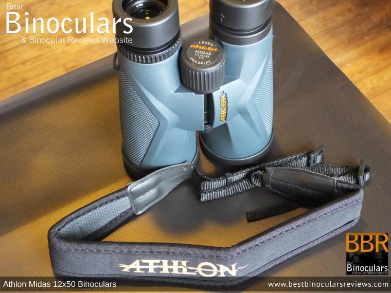 Neck Strap for the Athlon Midas 12x50 Binoculars