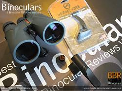 Objective Lenses on the Snypex Knight ED 10x32 Binoculars