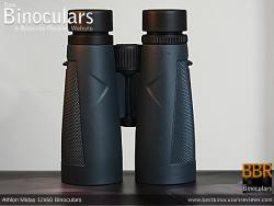 Underside of the Athlon Midas 12x50 Binoculars