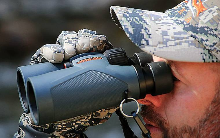Using the Athlon Midas Binoculars for hunting