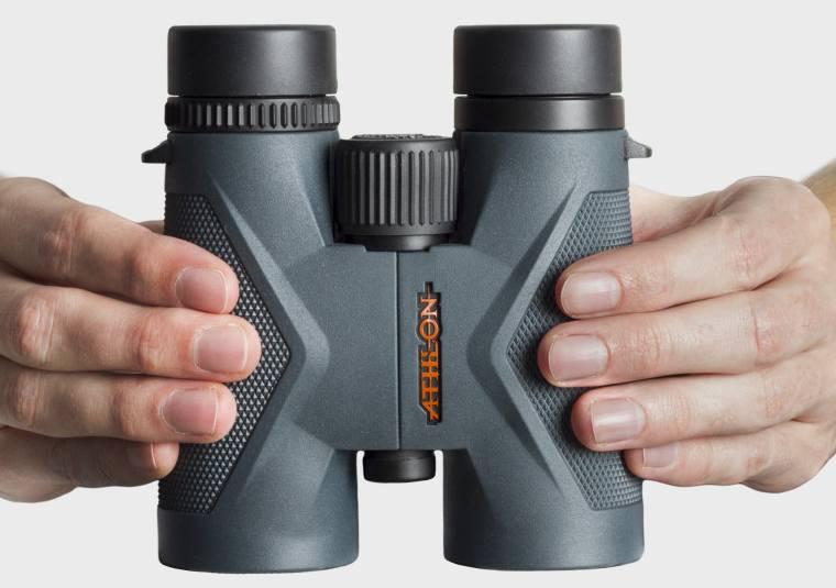 Designing the Athlon Midas 8x42 Binoculars - grip texture