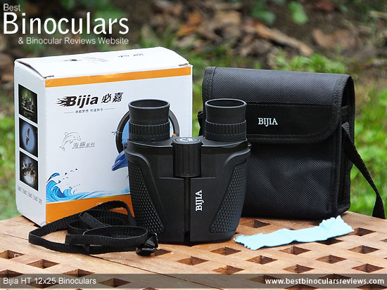 Bijia 12x25 HT Binoculars & Accessories