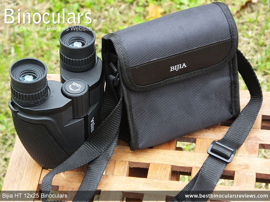 Bijia 12x25 HT Binoculars & Carry Bag