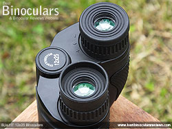 Fold Up/down Eyecups on the Bijia 12x25 Binoculars