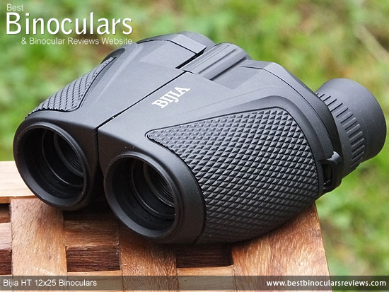 25mm Objectives on the Bijia 12x25 HT Binoculars