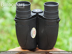Underside of the Bijia 12x25 Binoculars