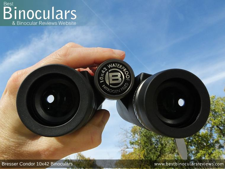 Adjusting the Focus Wheel on the Bresser Condor 10x42 Binoculars