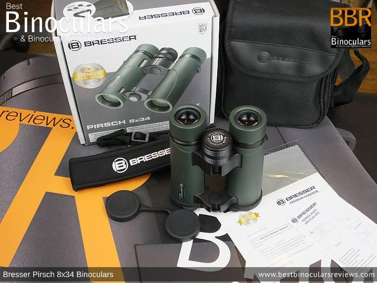Accessories for the Bresser Pirsch 8x34 Binoculars