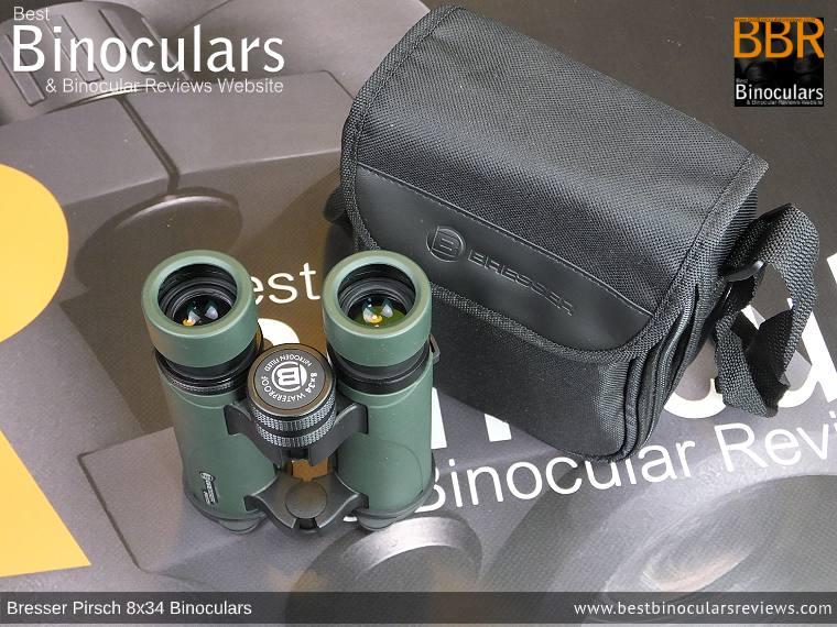 Carry Case for the Bresser Pirsch 8x34 Binoculars