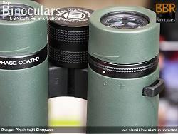 Diopter Adjustment on the Bresser Pirsch 8x34 Binoculars